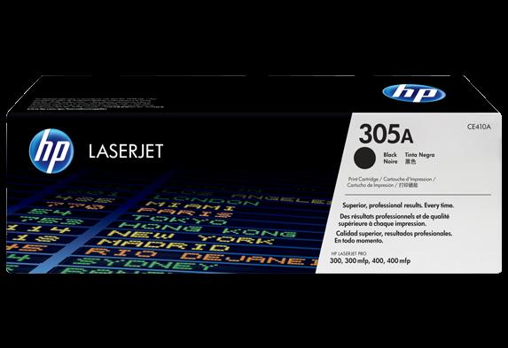 Cartucho De Toner Laserjet Preto Hp 305a Original (ce410a)