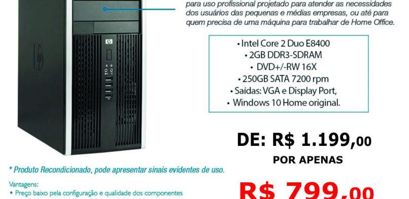 Hp 6000 Mt Compaq Pro – Windows Original – Recondicionado